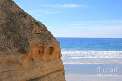 Photograph - Torrey Pines A Peek Of Paradise by Suzanne Oesterling