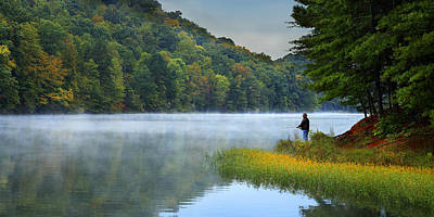 A Perfect Morning Art Print by Wendell Thompson