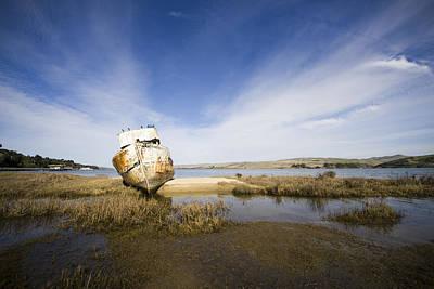 Beach Photograph - A Permanent Rest by Priya Ghose