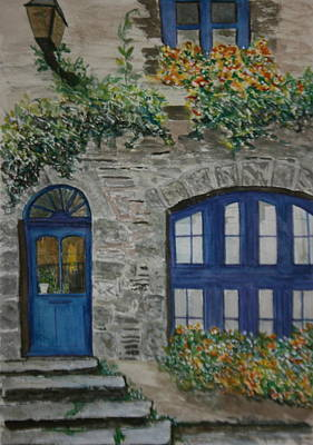 Painting - A Picturesque Corner Of France by Betty-Anne McDonald