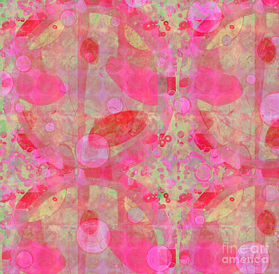 Digital Art - A Pink Universe by Gabrielle Schertz