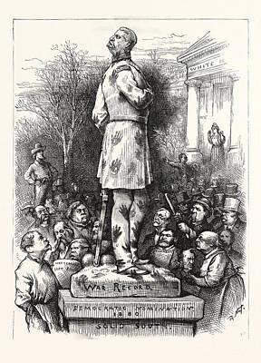 A Pity, Democratic Nomination 1880, Politics, Political Art Print
