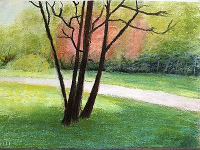 Painting - A Place For Walk by Giti Ala