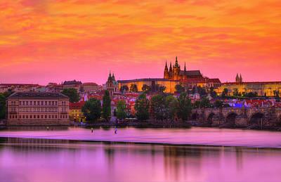 Prague Czech Republic Photograph - A Place In The Sun by Midori Chan