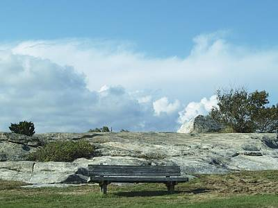 Photograph - A Place To Sit by Patricia McKay