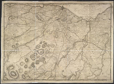 The Country Photograph - A Plan Of Edinburgh by British Library