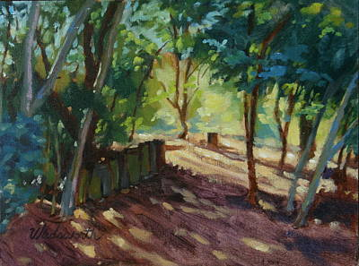 Nature Center Painting - A Pleasant Walk by Karen Wadsworth