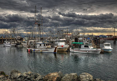 Photograph - A Port In The Storm by Randy Hall