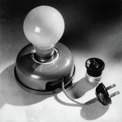 Photograph - A Portable Light Socket by Maurice Seymour