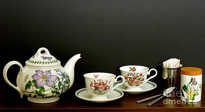 Photograph - A Portmeirion Tea by Renee Trenholm