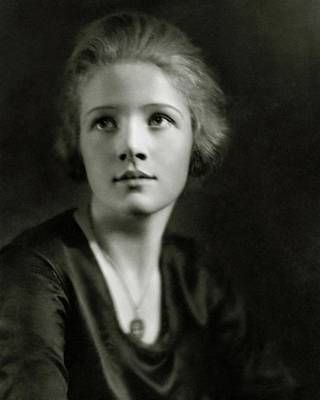Woman Head Photograph - A Portrait Of Ann Harding by Nicholas Muray