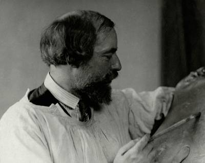 Painter Photograph - A Portrait Of Augustus John Painting by Arnold Genthe