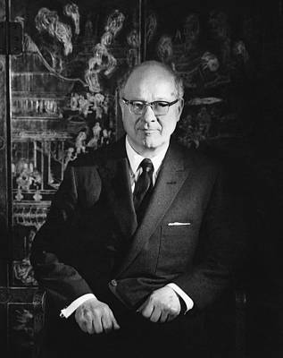 1960 Photograph - A Portrait Of Avery Brundage by John Rawlings