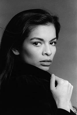 Studio Shot Photograph - A Portrait Of Bianca Jagger by Francesco Scavullo