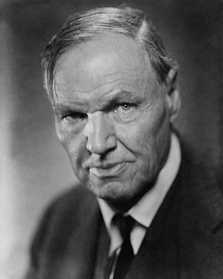 Clarence Photograph - A Portrait Of Clarence Darrow by Nickolas Muray