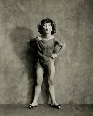 A Portrait Of Dancer Ruth Goodwin Art Print by Nickolas Muray
