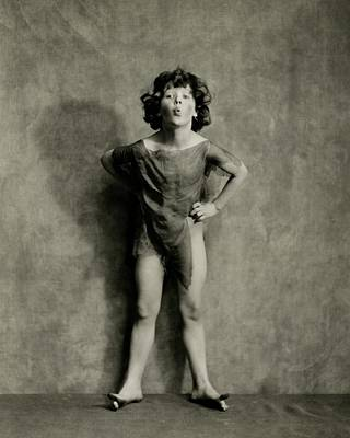 Photograph - A Portrait Of Dancer Ruth Goodwin by Nickolas Muray