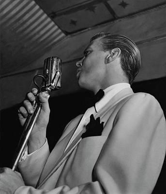 Photograph - A Portrait Of Dick Haymes by Phillipe Halsman