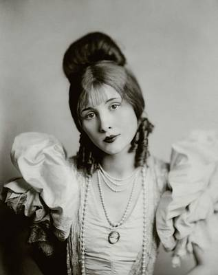 Pianist Photograph - A Portrait Of Edythe Baker by Florence Vandamm