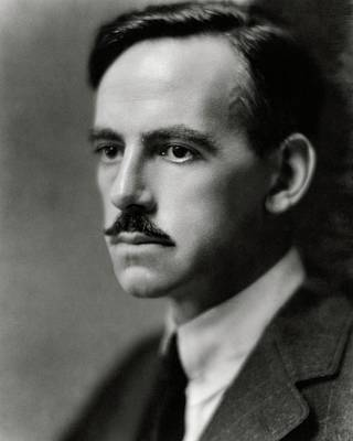 Photograph - A Portrait Of Eugene O'neill by Nickolas Muray