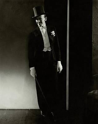 Film Photograph - A Portrait Of Fred Astaire by Edward Steichen