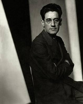 Crosses Photograph - A Portrait Of George S. Kaufman by Edward Steichen