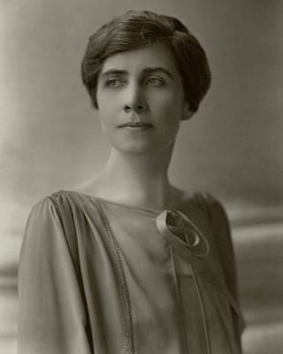 A Portrait Of Grace Coolidge Art Print