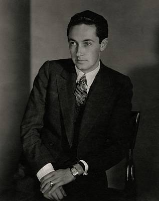 Young Man Photograph - A Portrait Of Irving Grant Thalberg by Edward Steichen