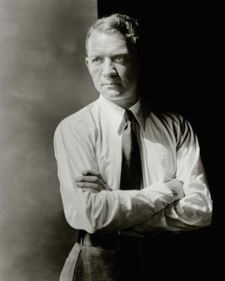 Cartoonist Photograph - A Portrait Of John Held Jr by Barnaba