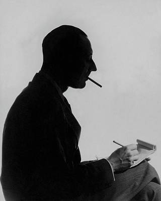 Photograph - A Portrait Of Johnny Mcmullin by George Hoyningen-Huene