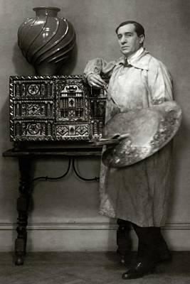 Painter Photograph - A Portrait Of Lucien Muratore by Francis Bruguiere