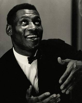 Gesture Photograph - A Portrait Of Paul Robeson by Edward Steichen