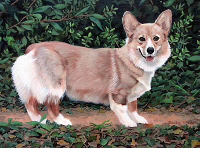Painting - A Portrait Of Pickle by Sandra Chase