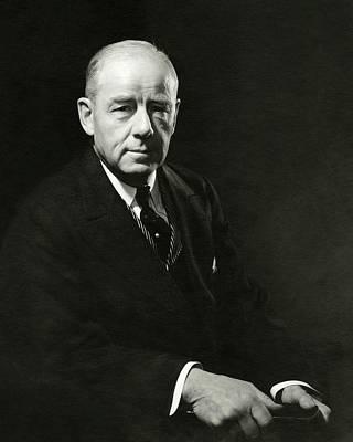 A Portrait Of Thomas W. Lamont Art Print