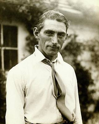 Button Down Shirt Photograph - A Portrait Of Tommy Armour by Edwin Levick