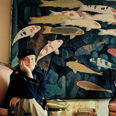 Photograph - A Portrait Of Truman Capote by Horst P. Horst