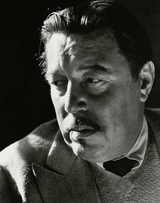 A Portrait Of Warner Oland Art Print