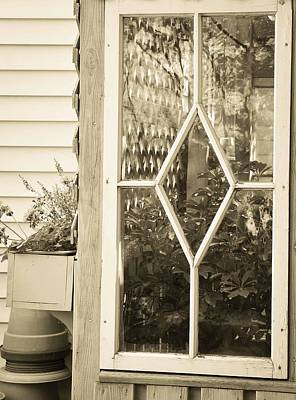 Potting Shed Photograph - A Potting Shed by Maria Suhr