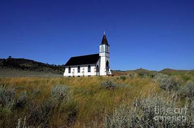 Photograph - A Prairie Chapel by Mel Steinhauer