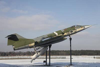 A Preserved F-104g Starfighter Print by Timm Ziegenthaler