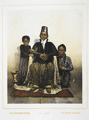Fez Photograph - A Prince Of Java by British Library