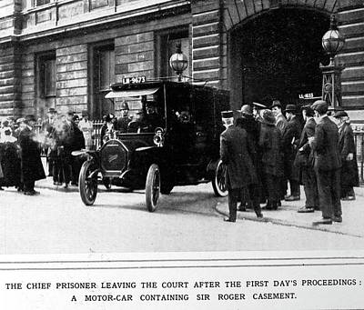 Court House Photograph - A Prisoner Leaving Court by British Library