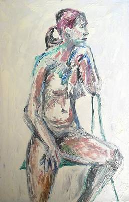 Painting - A Pristine Nude by Esther Newman-Cohen