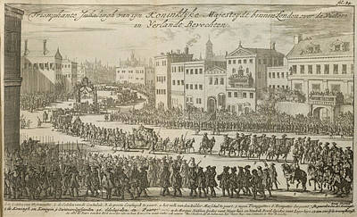 Aristocrat Photograph - A Procession For King William IIi by British Library