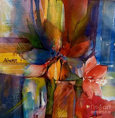Wet On Wet Painting - A Profusion Of Colours by Donna Acheson-Juillet