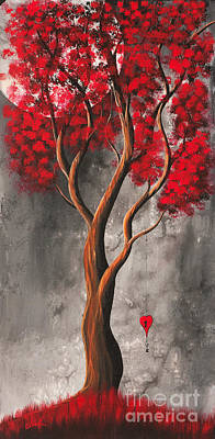 Fantasy Tree Art Painting - A Promise For Tomorrow By Shawna Erback by Shawna Erback