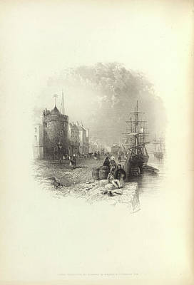 Ritchie Photograph - A Quayside by British Library