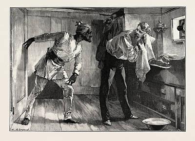 H Drew Drawing - A Quick Question by Overend, William Heysham (1851-1898), British