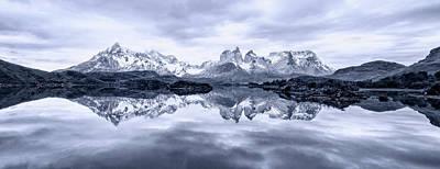 Blue Tone Photograph - A Quiet Day by Carlos Guevara Vivanco
