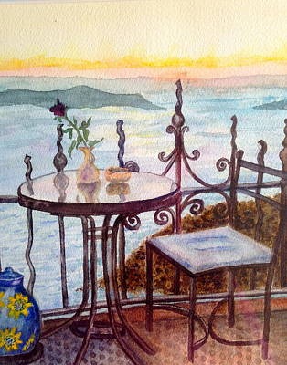 Painting - A Quiet Place by Carol Warner